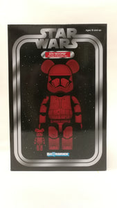Bearbrick 100%/400% Sith Trooper Red