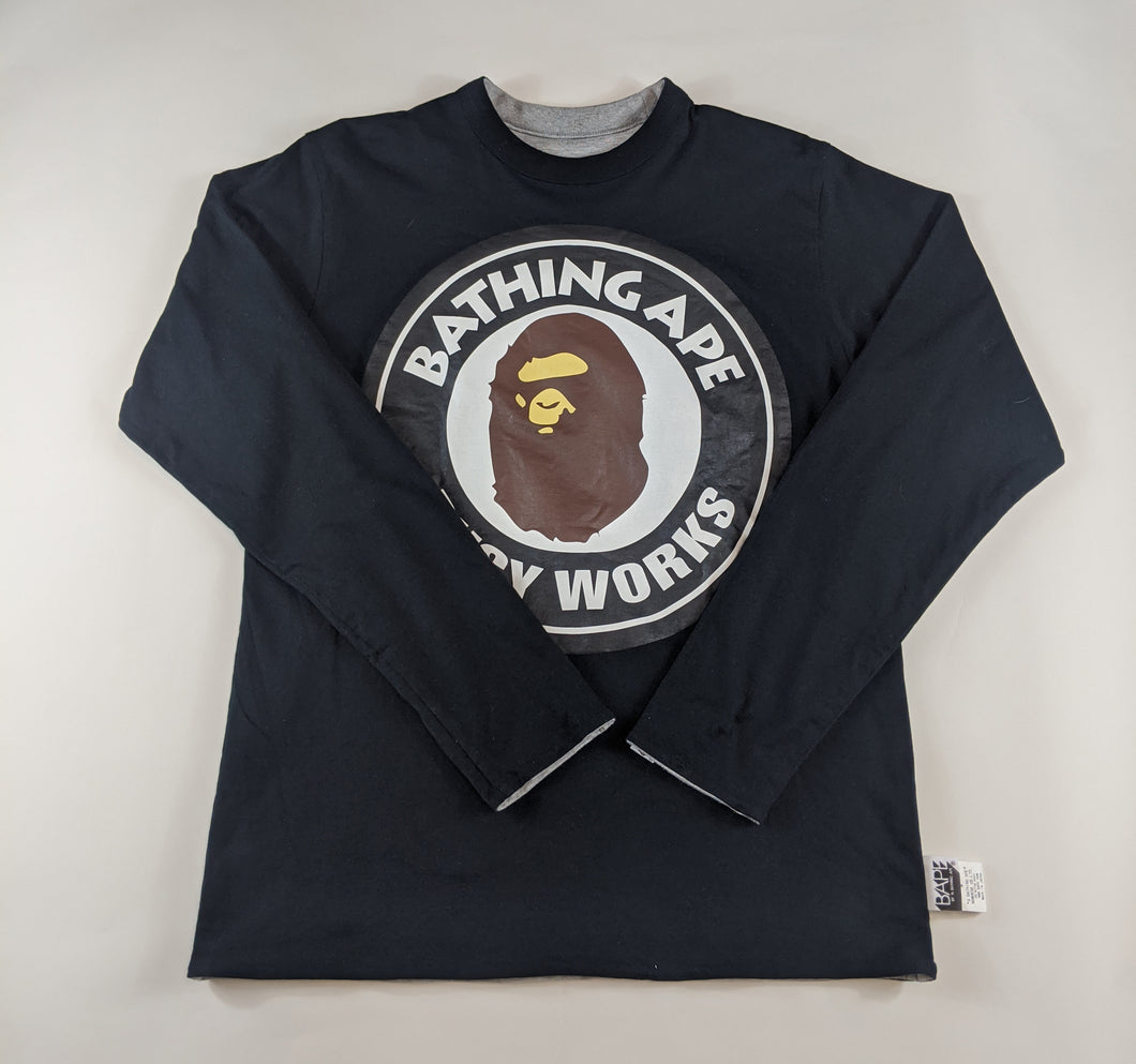 Bape College Black Long Sleeve