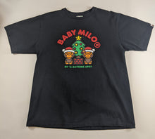 Load image into Gallery viewer, Bape Christmas Black T-Shirt