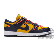 Load image into Gallery viewer, Nike Dunk Low Off-White University Gold Midnight Navy