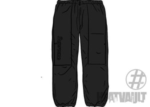 Supreme 2-Tone Cinch Pant Black