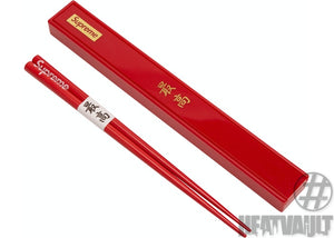Supreme Chopsticks Set Red