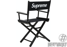 Load image into Gallery viewer, Supreme Director's Chair Black