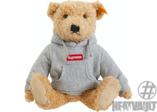 Load image into Gallery viewer, Supreme Steiff Bear Heather Grey