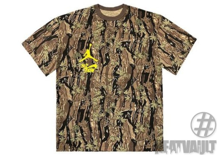 Travis Scott Jordan Cactus Jack Highest Camo T-Shirt