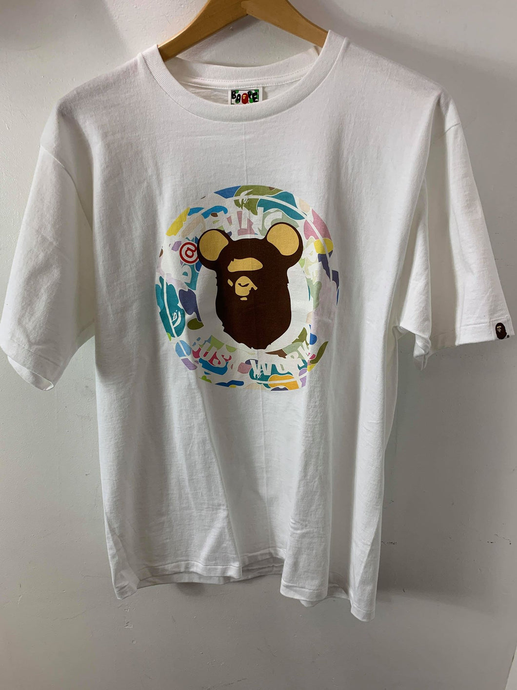 Bape Bearbrick White T-Shirt