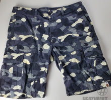 Load image into Gallery viewer, Bape Black Camo Cargo Shorts