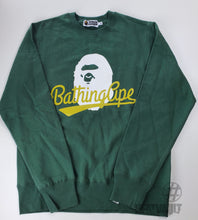 Load image into Gallery viewer, Bape Classic Green Crewneck