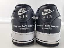 Load image into Gallery viewer, Nike Air Force 1 Low Supreme x Comme des Garcons (2018) -  Size 8, Condition Excellent