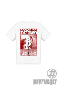 Travis Scott Look Mom I Can Fly White T-Shirt