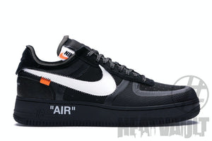 Offwhite Black Airforce 1