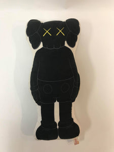 Kaws Black Pillow