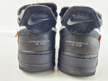 Load image into Gallery viewer, Nike Air Force 1 Low Off-White Black White Size 8.5, Condition: Excellent