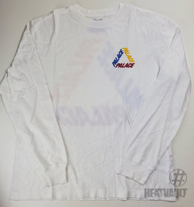 Palace White Muti Color Long Sleeve