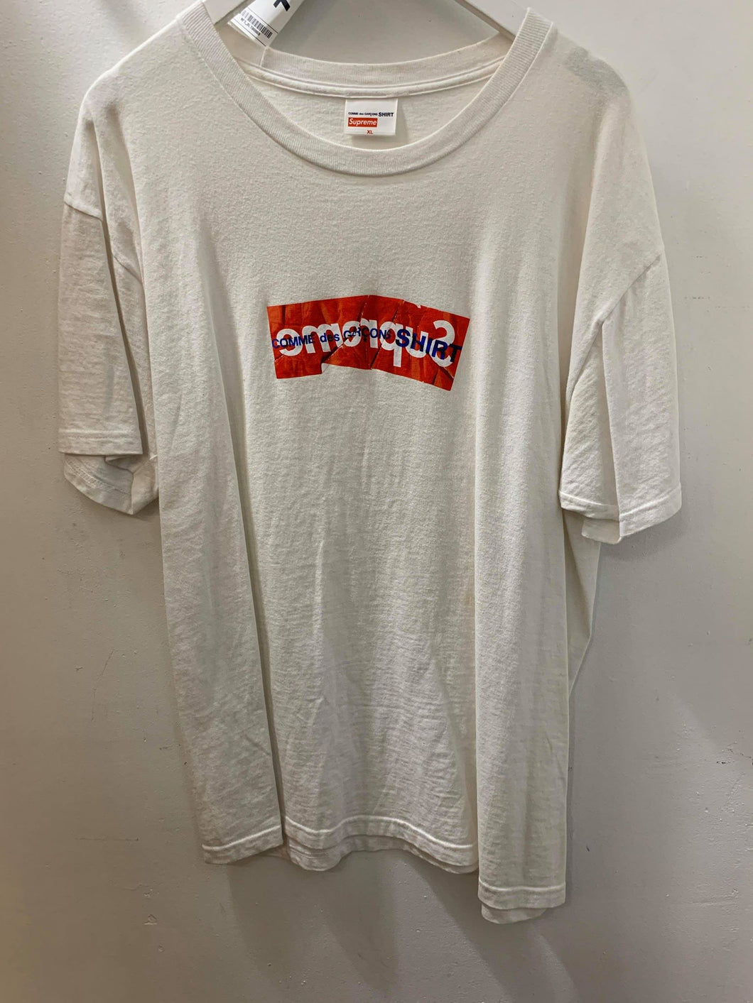 Supreme CDG White T-Shirt