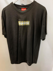 Supreme Burberry BOGO Black T-Shirt