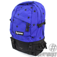 Load image into Gallery viewer, Supreme Blue Star Backpack