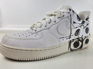 Nike Air Force 1 Low Supreme Comme des Garcons Shirt - Size 9, Condition : Excellent