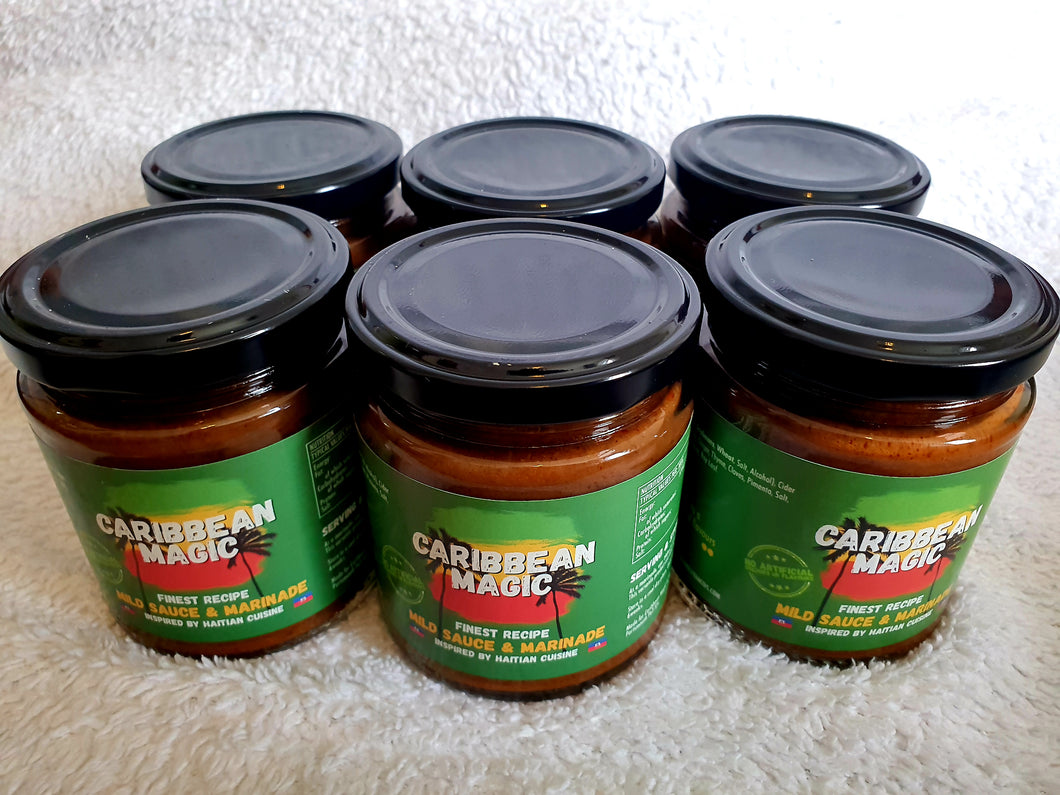 Pack of 6 Caribbean seasonings