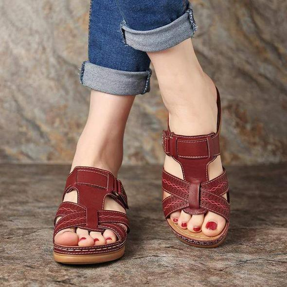Orthopedic Open Toe Alignment Sandal