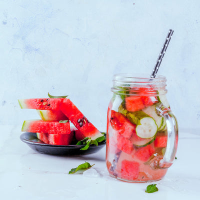 Water for Wellness: Cool Down With This Watermelon-Mint Recipe