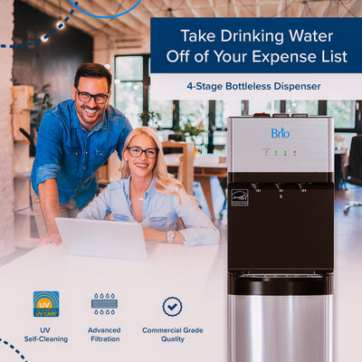 5 Reasons You Should Add a Bottleless Water Cooler to Your Office