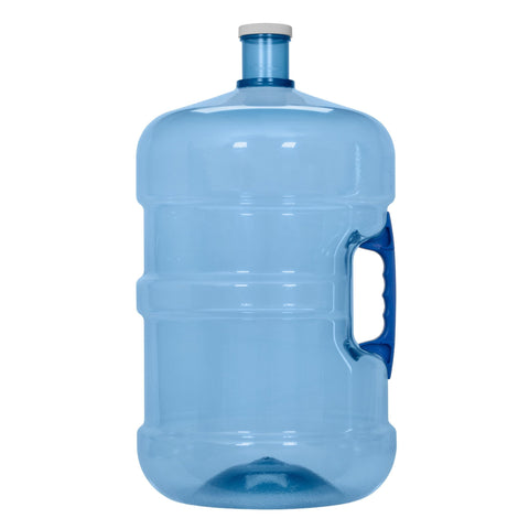 5 Gallon BPA Free PET Plastic Water Bottle with Screw Cap - water cooler