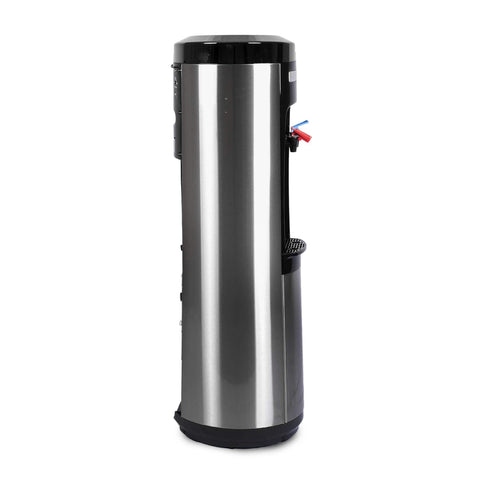 Signature Bottleless Water Cooler, Black and Stainless Steel - water cooler
