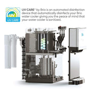500 Series 2-stage UV Self-Cleaning Countertop Water Cooler - water cooler