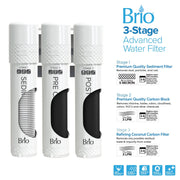 Brio Point of Use 720 Series 3-Stage Water Dispenser with Ultra-Filtration