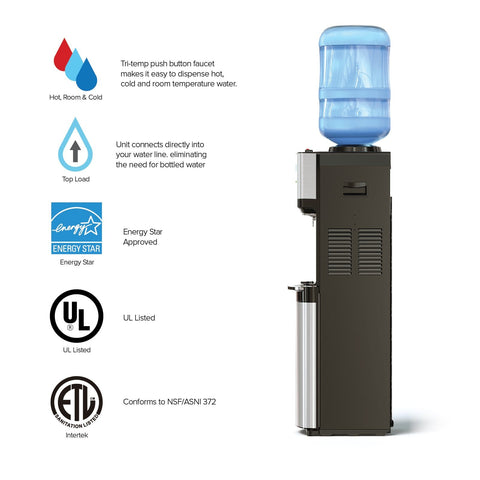500 Series Tri-Temp Top-Load Water Cooler