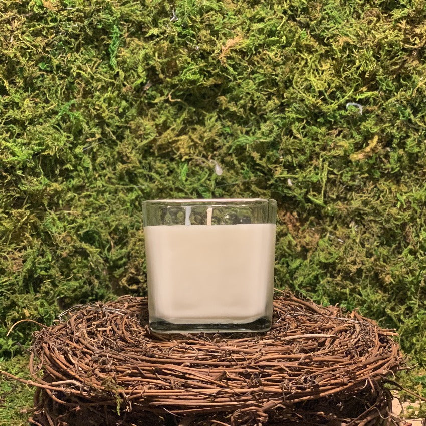 Amber and Sandalwood Soy Candle
