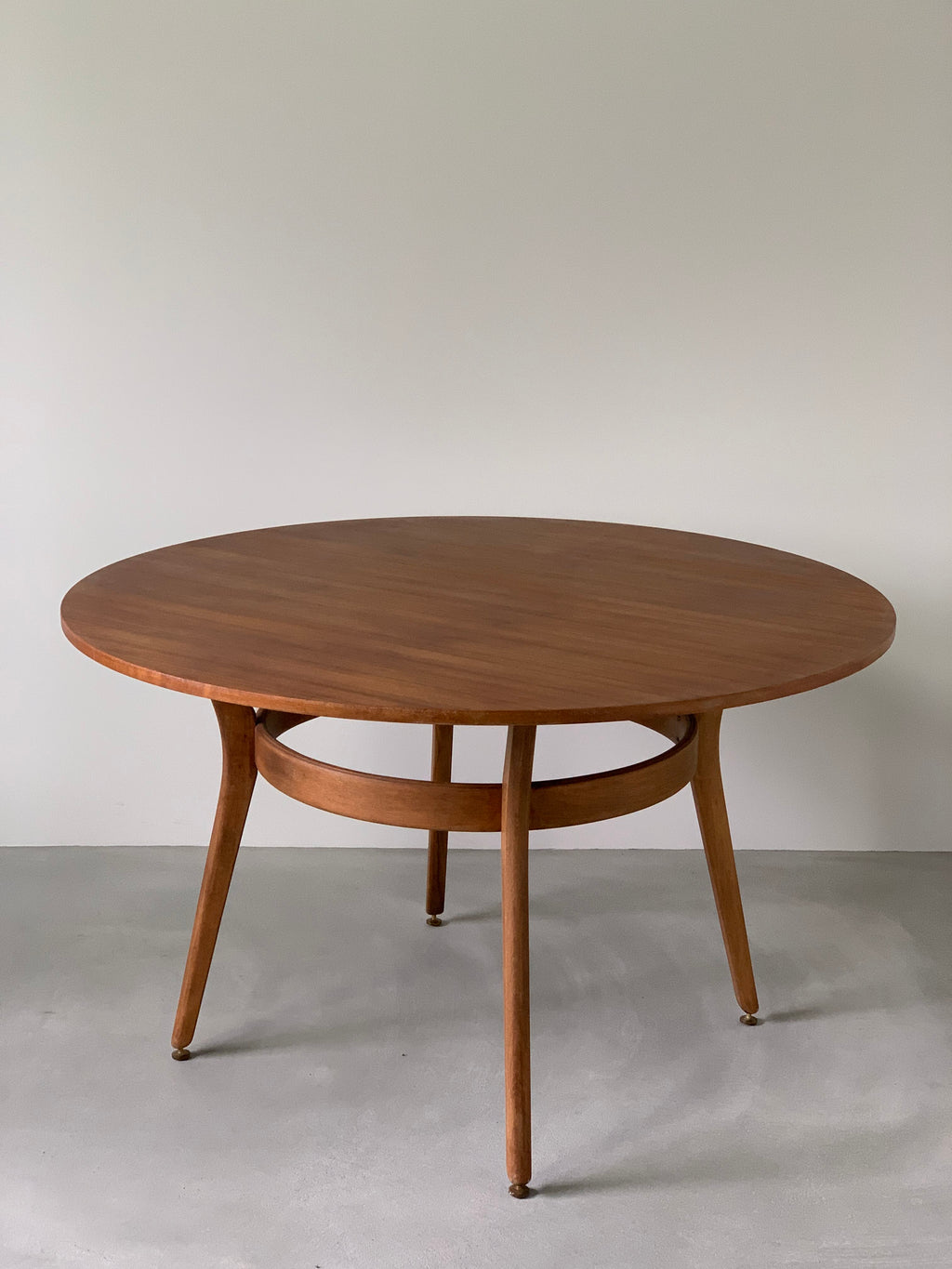 ジープラン ラウンドテーブル / g-plan round dining table 'e gomme librenza' #0074