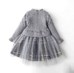 Aspen - Plaid Sweater Dress