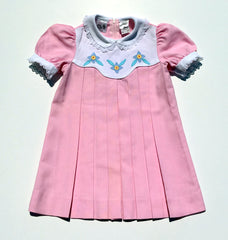 Vintage Pleated Dress Sz 4T