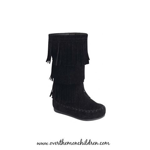Toddler Fringe Moccasin Boots