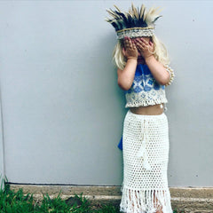 Gypsy Goddess Maxi Skirt