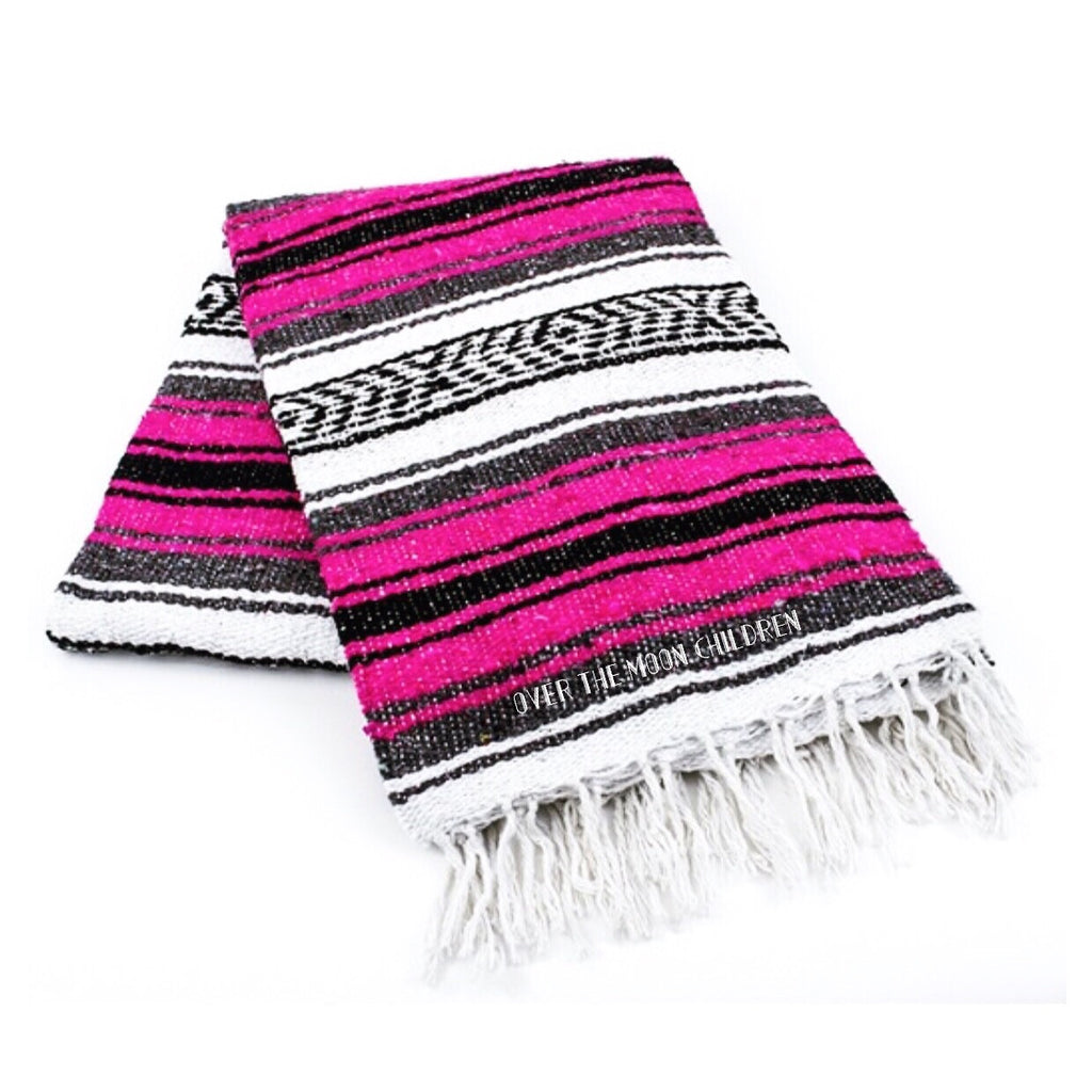 Baja Blanket - Hot Pink