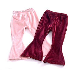 Velvet Bell Bottoms