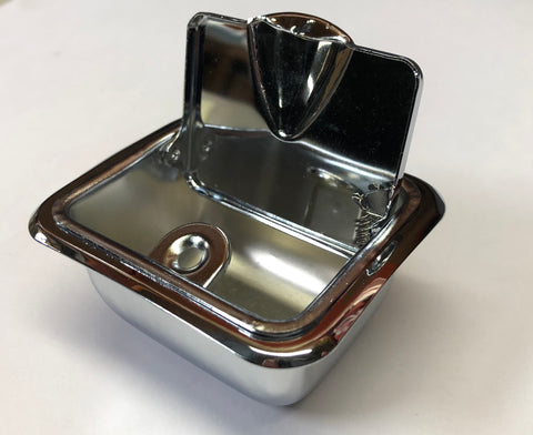 AA60 | 1960-67 Chevrolet Rear Quarter Ash Tray Assembly (See Description for Other Fits)