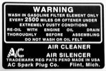 BD03 | 1937 Air Breather Decal