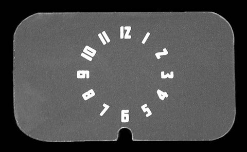 CG02 | 1940 Clock Glass Insert