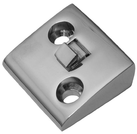 DS13-C | 1939-48 Door Striker Plate - CHROMED (See description for quantity required)