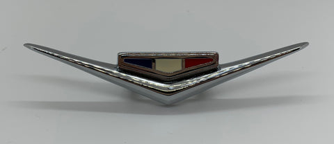 "FE62 | 1962-63 Chevrolet (with 283) Fender Emblems ""V""  (See Description for Other Fits)"