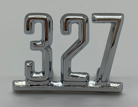 "FE65-C2 | 1965-67 Chevelle/El Camino Fender Emblems ""327"" (See Description for Other Fits)"