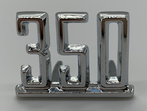 "FE65-C5 | 1965-67 Chevelle/El Camino Fender Emblems ""350"" (See Description for Other Fits)"