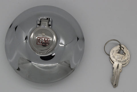 "GC38-G | 1938-54 Chevrolet Locking Gas Cap ""GM"" (See Description for Models)"