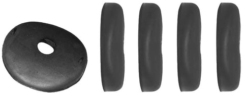 GD03-C | 1937-39 Gravel Deflector Bumper Cushions