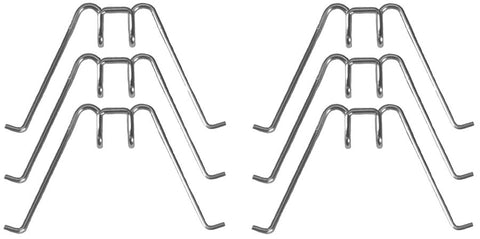 HB21-C | 1938-39 Headlight Reflector Tension Spring Clips (Set of 6)