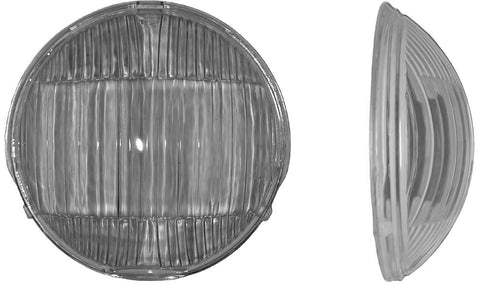 HL01 | 1936/1939 Headlight Glass Lens (1937-38 Truck)